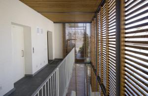 Casa bianca - Scala esterna