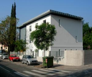 Casa bianca - Vista esterna