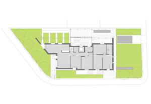 Casa bianca - Planimetria di progetto