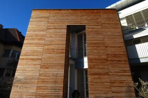 Casa bianca - La quinta in legno