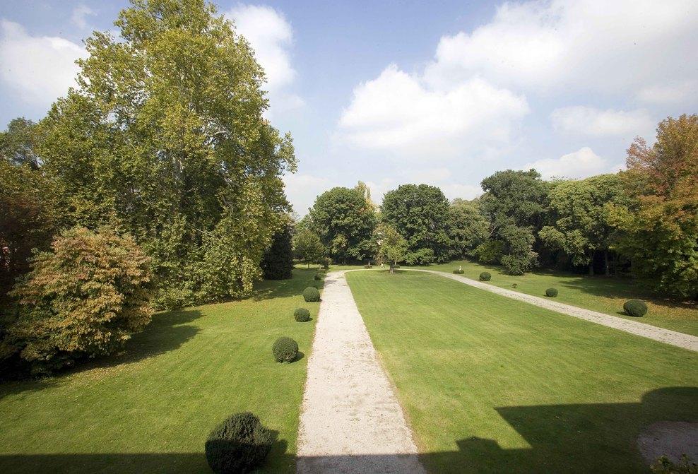 Parco di Villa Manzoni - Vista del parco