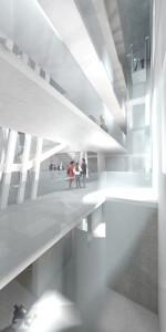 Palazzo Citterio - Corpo scale