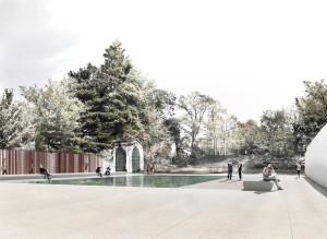 Palazzo Citterio - Il giardino