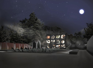 Palazzo Citterio - Il giardino - Evento notturno